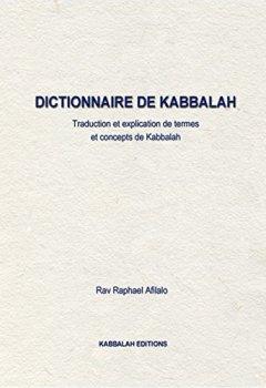 Livres Couvertures de Dictionnaire de Kabbalah