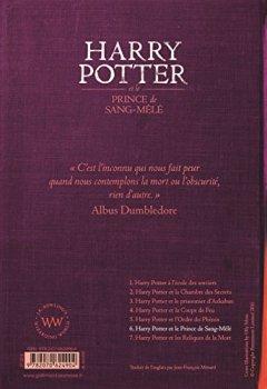Livres Couvertures de Harry Potter, VI:Harry Potter et le Prince de Sang-Mêlé