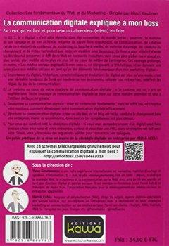 Livres Couvertures de La communication digitale expliquée à mon boss