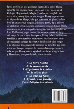 Buchdeckel von Rowling, Joanne K., Vol.3 : Harry Potter y el prisionero de Azkaban (Letras de Bolsillo, Band 102)