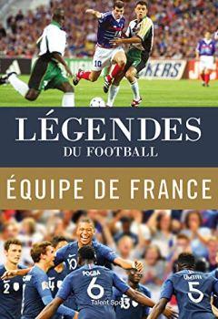 Livres Couvertures de Légendes du football - Équipe de France
