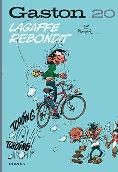 Livres Couvertures de Gaston (Edition 2018) - tome 20 - Lagaffe rebondit (Edition 2018)
