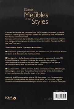 Livres Couvertures de Guide des meubles et des styles