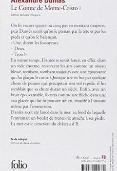 Livres Couvertures de Le Comte de Monte-Cristo, tome 1