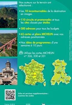 Livres Couvertures de Guide Vert Auvergne Michelin
