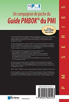 Livres Couvertures de Un compagnon de poche du Guide Pmbok® du Pmi: Basé Sur Le Guide Pmbok® 5Ème Edition