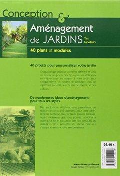 Livres Couvertures de Conception et aménagement de jardins : 40 plans et modèles