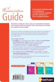 Livres Couvertures de A Pronunciation Guide