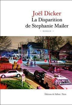 Livres Couvertures de La Disparition de Stephanie Mailer