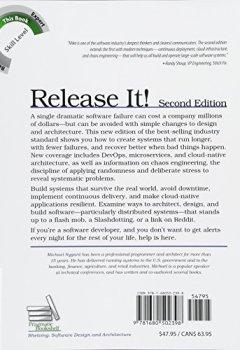 Livres Couvertures de Release It!: Design and Deploy Production-Ready Software