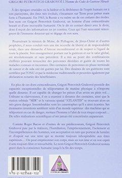 Livres Couvertures de Grigori Petrovitch Grabovoï - L'Homme des codes de guérison miracle