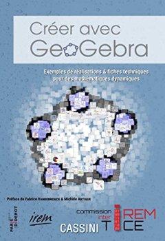 Livres Couvertures de Creer avec Geogebra
