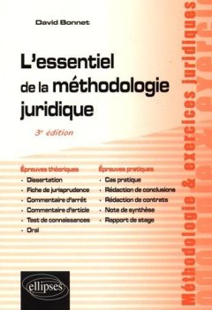 Livres Couvertures de L'Essentiel de la Méthodologie Juridique