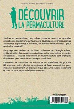 Livres Couvertures de Découvrir la permaculture : Petit manuel pratique pour commencer