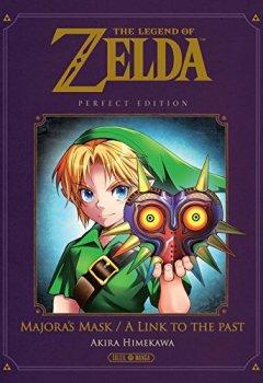 Livres Couvertures de The Legend of Zelda - A Link to the Past & Majora's Mask - Perfect Edition