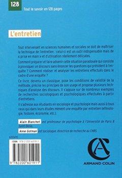 Livres Couvertures de L'entretien - 2e éd.