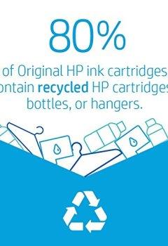 Livres Couvertures de HP C2P07AN Cartouche d'encre Bleu, Rose, Jaune
