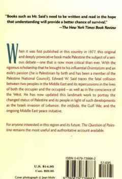 Livres Couvertures de The Question of Palestine