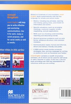 Livres Couvertures de Email English Student's Book