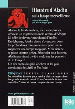 Livres Couvertures de Contes des Mille et Une Nuits:Histoire d'Aladin ou la lampe merveilleuse