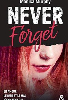 Livres Couvertures de Never Forget T1 : Intense, captivante, interdite, une dark romance réussie ! (&H)