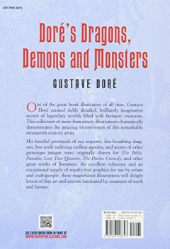 Livres Couvertures de Dore's Dragons, Demons And Monsters