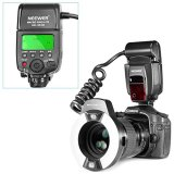 Neewer-Close-up-NW-14EXM-Universal-LED-Macro-Ring-Flash-Light-with-AF-Assist-Lamp-for-Canon-Nikon-Sony-Panasonic-Olympus-Fujifilm-Pentax-and-Other-DSLR-Cameras-with-Single-contact-Hot-Shoe