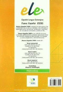 Livres Couvertures de Nuevo Espanol 2000 Level 1: Student Book with CD