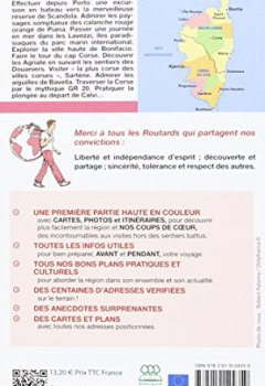 Livres Couvertures de Guide du Routard Corse 2016