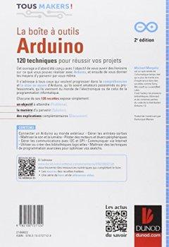 Livres Couvertures de La boîte à outils Arduino - 2e éd - 120 techniques pour réussir vos projets