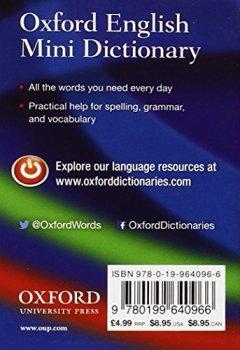 Livres Couvertures de Oxford English Mini Dictionary