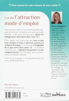 Livres Couvertures de Loi de l'attraction : mode d'emploi : Vers le bonheur, le succès et la réussite