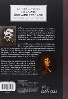 Livres Couvertures de Le Petit Larousse des grands écrivains français