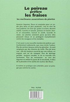 Livres Couvertures de Le poireau préfère les fraises. Les meilleures associations de plantes