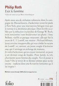 Livres Couvertures de Les livres de Zuckerman:Exit le fantôme