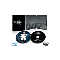 【Amazon.co.jp限定】007 スペクター ブルーレイ版スチールブック仕様 (DVD特典ディスク付き)(特製ポストカード付き) [Blu-ray]