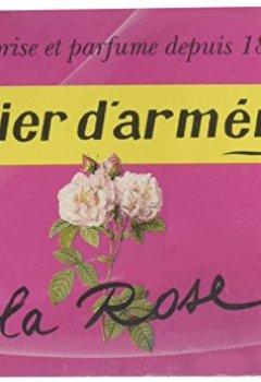 Livres Couvertures de Papier d'Arménie La Rose - Carnet de 36 lamelles