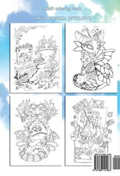 Livres Couvertures de Nice Little Dragons: Adult Coloring Book (Coloring pages for relaxation, Stress Relieving Coloring Book)