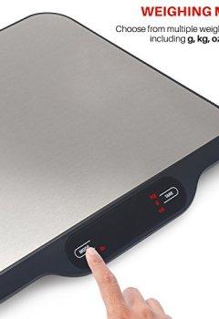 Livres Couvertures de Smart Weigh La balance postale multifonction et la balance numérique de cuisine avec un large plateau avec une capacité de 15 Kg.