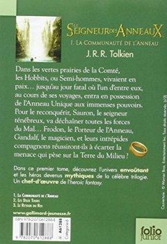 Livres Couvertures de Le Seigneur des Anneaux (Tome 1-La Communauté de l'Anneau)