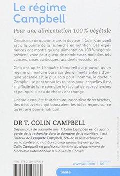 Livres Couvertures de Le régime Campbell : Pour une alimentation 100 % végétale