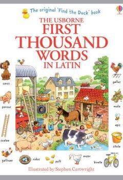 Abdeckungen First Thousand Words in Latin