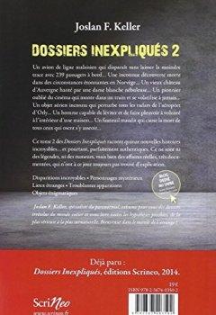 Livres Couvertures de Les Dossiers inexpliqués 2