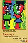 Anthologie de la littérature haïtienne. Un siècle de poésie. 1901-2001