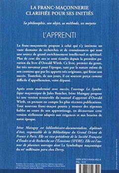 Livres Couvertures de La franc-maçonnerie clarifiée pour ses initiés : Tome 1, L'apprenti