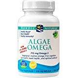 Nordic Naturals - Algae Omega, Eye Health, Heart Health, and Optimal Wellness, 120 Soft Gels