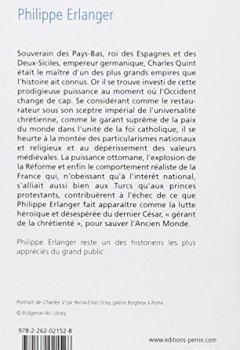 Livres Couvertures de Charles Quint