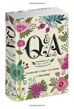 Livres Couvertures de Q&A a Day for Moms: A 5-Year Journal