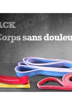 Livres Couvertures de Pack bandes élastiques Corps sans douleur