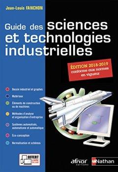 Livres Couvertures de Guide des sciences et technologies industrielles